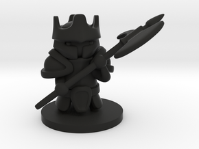 Heavy Knight in Black Premium Versatile Plastic