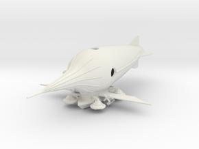 Aeronautical Development in White Natural Versatile Plastic: 1:700