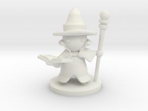 Wizard in White Premium Versatile Plastic