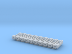 1:50 Betonfuß in Smooth Fine Detail Plastic
