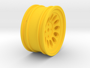 Wheel - 26mm Touring - Alfa 2000 GTAM +3mm Offset in Yellow Processed Versatile Plastic