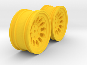 Wheels - 26mm Touring - Alfa 2000 GTAM +3mm Offset in Yellow Strong & Flexible Polished