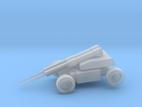 Cartank in Smooth Fine Detail Plastic: Small