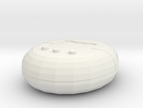 Virtual Pet in White Natural Versatile Plastic