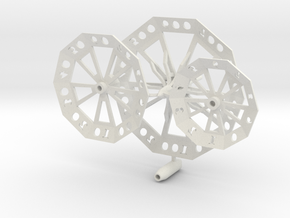 ''d1000 Spinner'' Limited Collectors Edition - No  in White Natural Versatile Plastic