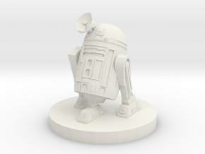 Junk Droid in White Natural Versatile Plastic