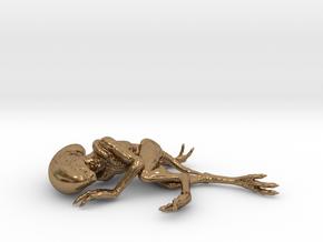 Alien Baby (5,5cm) in Natural Brass