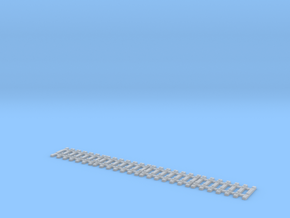 Nm flexible track for code 55 profiles in Frosted Ultra Detail