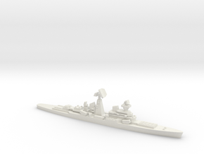 Missile Cruiser Dzerzhinsky (Never Were), 1/2400 in White Natural Versatile Plastic