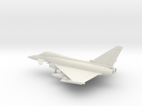 Eurofighter EF-2000 Typhoon in White Natural Versatile Plastic: 1:160 - N