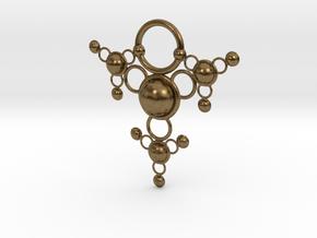 TsSys Pendant in Natural Bronze