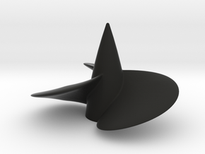 Single right hand ship propeller f. Bismarck/Tirpi in Black Premium Strong & Flexible