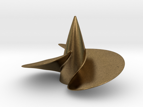 Single right hand ship propeller f. Bismarck/Tirpi in Natural Bronze
