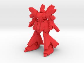 1/700 Military Diorama Robot Sazabi in Red Processed Versatile Plastic