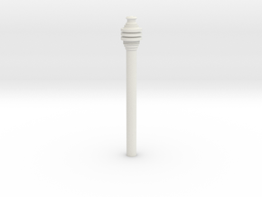 Imperial Code Cylinder .8 in White Natural Versatile Plastic