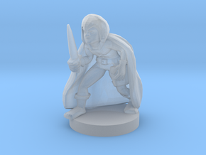 Gnome Male Rogue in Smooth Fine Detail Plastic