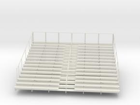 Printle Bleachers - 1/12 in White Natural Versatile Plastic