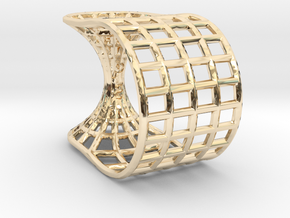 Wormhole Ring in 14K Yellow Gold: 5 / 49