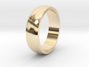 Wedding Band 5mm wide in 14K Yellow Gold