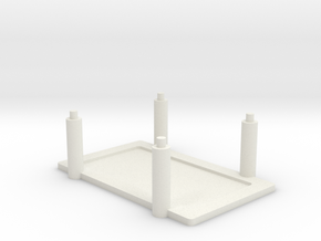 Arduino Mega Rack in White Natural Versatile Plastic