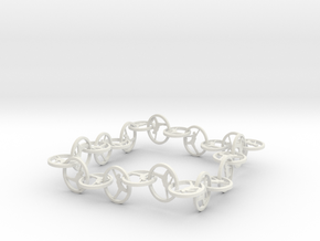 Yoga Jewelry   in White Natural Versatile Plastic