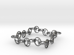 Yoga Jewelry   in Polished Silver (Interlocking Parts)