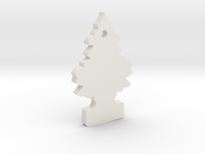 1/10 Scale Royal Pine Air Freshener in White Natural Versatile Plastic