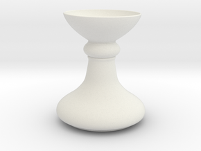 Base or Vase in White Natural Versatile Plastic: 1:20