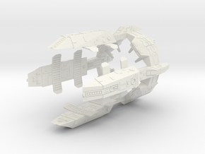 Turanic Raider Outpost in White Strong & Flexible