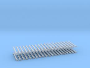 Saugschlauchsatz A 2,5m 10erSet - 1:87 H0 in Smooth Fine Detail Plastic