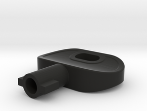 ABB-KEY in Black Natural Versatile Plastic