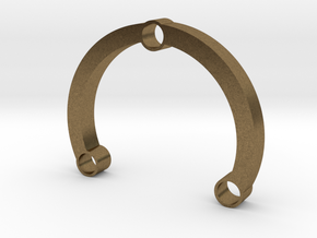 R-type 66 Round in Natural Bronze
