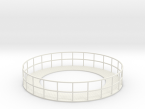 Walkway 4 - HOscale in White Natural Versatile Plastic