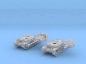 1/144 Hungarian Turan II - Turan III Set in Smooth Fine Detail Plastic