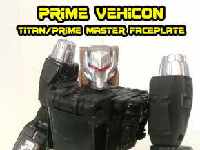 Vehicon, Prime Face (Titans Return) in Smooth Fine Detail Plastic