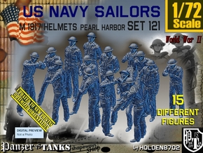1/72 USN Pearl Harbor Set 121 in Smooth Fine Detail Plastic