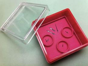 Chronograph Hand Organizer (48mm) in Red Processed Versatile Plastic