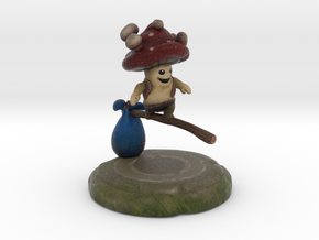Shroomy (flying) in Full Color Sandstone
