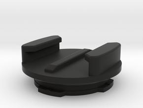 Quadlock Male to GoPro Female clip Adapter in Black Natural Versatile Plastic