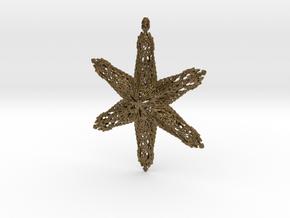 Snowflake B in Natural Bronze