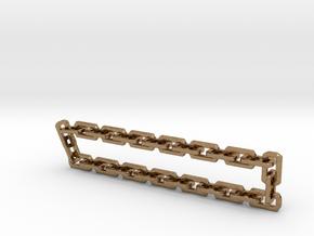 Nitro Zeus Chain, Basic in Natural Brass (Interlocking Parts)
