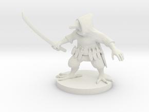 Ravenfolk Ninja in White Premium Versatile Plastic