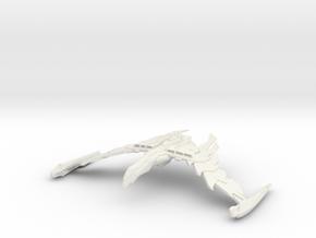 Romulan GreatBird Class  WarBird in White Natural Versatile Plastic