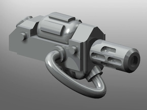 Human-sized Thermal Injector Pistols x5 in Smooth Fine Detail Plastic