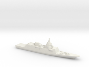 DCNS FREMM-ER Concept (2012 Design), 1/2400 in White Natural Versatile Plastic