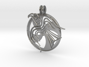 Norrelag pendant in Natural Silver