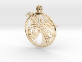 Norrelag pendant in 14k Gold Plated Brass