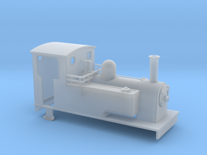 TTn3 kerr stuart style 0-6-0t loco in Smooth Fine Detail Plastic