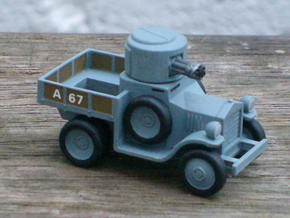 Armoured Car for Car Wars etc. 1/64 scale. in Smooth Fine Detail Plastic