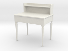 Printle Thing Secretaire 02 - 1/24 - wob in White Natural Versatile Plastic